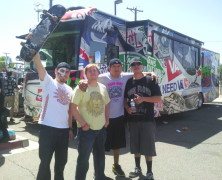 On The Grind Punk and Skate Tour with Miles To Nowhere and Johnny Lee