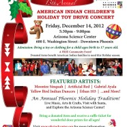 American Indian Children's Holiday Toy Drive Concert