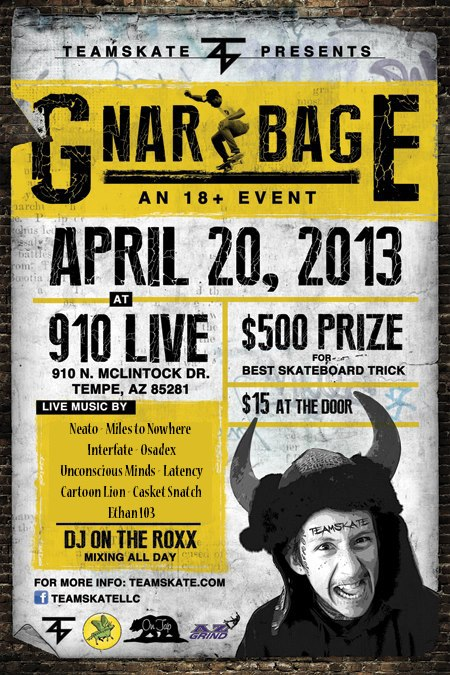 Gnarbage Skate and Music Festival