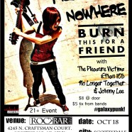 Rockbar – Miles to Nowhere, Burn This For A Friend, The Pleasure Victims, and more!