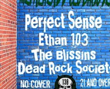 Tempe, AZ – Metalheads Clubhouse – Ethan 103 with Perfect Sense, The Blissins, & Dead Rock Society