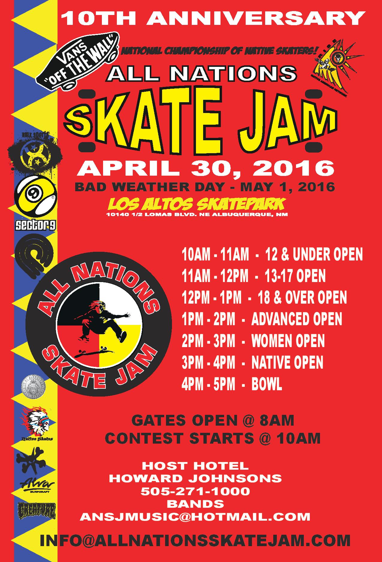 Albuquerque, NM – All Nations Skate Jam